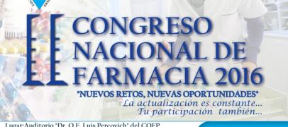 II Congreso Nacional de Farmacia 2016
