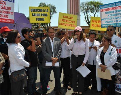 Nota de Prensa - PIDEN DEROGAR NUEVOS DECRETOS QUE EXIMEN DE CONTROL A COSMÉTICOS Y DIETÉTICOS