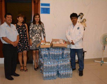 NOTA DE PRENSA - CQFP PARTICIPA EN CRUZADA DE SOLIDARIDAD PARA LOS DAMNIFICADOS DE HUACHIPA
