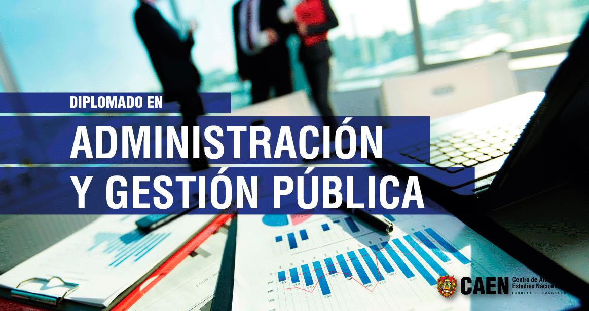 Diplomado en Administración y Gestión Pública