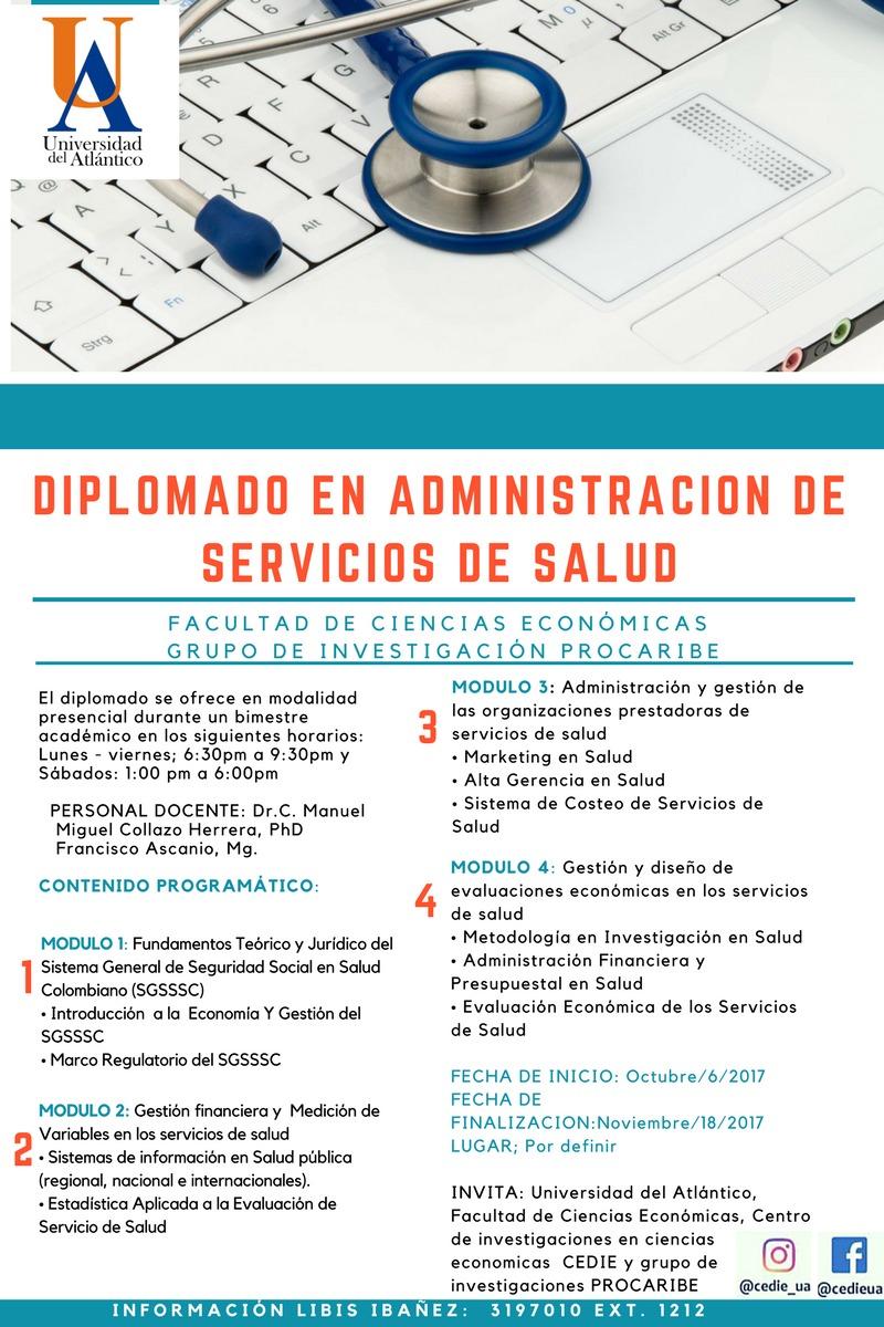 Diplomado en Administración de Servicios de Salud - UA