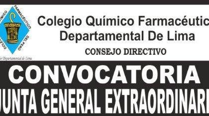 CONVOCATORIA JUNTA GENERAL EXTRAORDINARIA