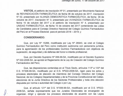 RESOLUCIÓN Nº 0003-2017-CQFP/JEN 2018-2019