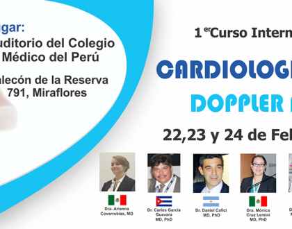 1er CURSO INTERNACIONAL CARDIOLOGIA FETAL Y DOPPLER FETAL