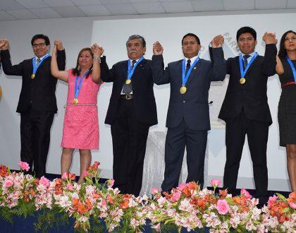 Nueva Junta Directiva Nacional 2018 - 2019 asumió cargo siendo presidida por el actual Decano Nacional, Marcial Torres Caballero