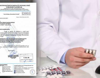 CQFP solicita a la DGSP-MINSA conformar Mesa de Trabajo para temas de evaluación, convalidación y reconocimiento de títulos profesionales Químico Farmacéuticos emitidos por Universidades extranjeras