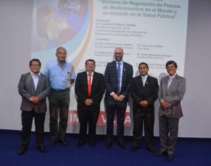CQFP realizó conferencia con invitado internacional