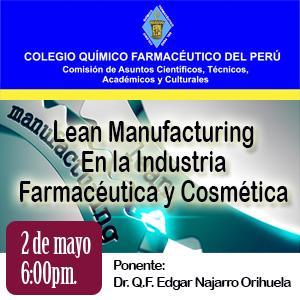 Lean Manufacturing en la Industria Farmacéutica y Cosmética