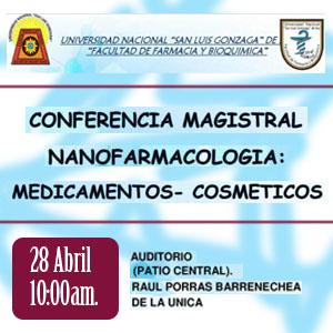 Conferencia Magistral Nanofarmacología: Medicamentos - Cosméticos