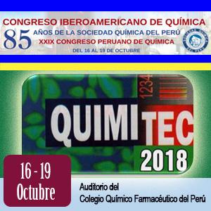 Congreso Iberoamericano de Química 2018