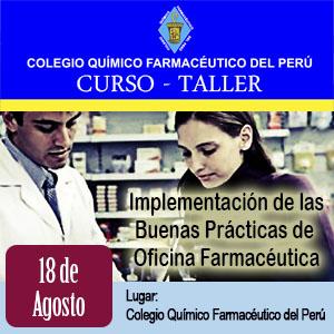 Curso Taller Buenas Prácticas de Oficina Farmacéutica