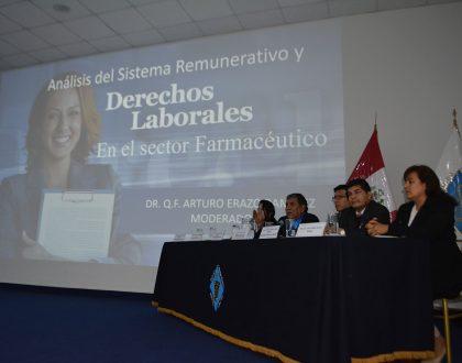"""CQFP realizó Mesa Redonda """"Análisis del Sistema Remunerativo y Derechos Laborales en el Sector Farmacéutico"""""""
