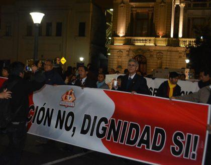 CQFP participó de marcha contra la corrupción