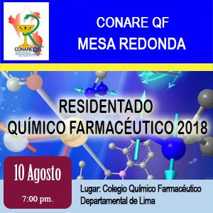 Mesa Redonda -  Residentado Químico Farmacéutico 2018