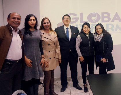 CQFP tuvo reunión de trabajo con los miembros del Laboratorio Global mix Farma para dialogar sobre la Preparación de Mezclas de Nutrición Parenteral