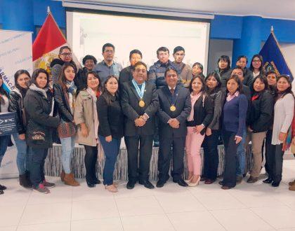 CQFP realiza ponencias en sede del CQFP de Junín