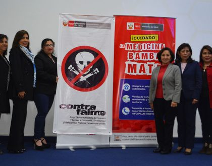 """CQFP realizó Conferencia """"El Comercio Ilegal de los Medicamentos en el Perú: Implicancias Legales y Riesgo para la Salud Pública"""""""